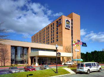 Welcome to the Best Western Hotel & Conference Center where guests will find an array of sophisticated hotel amenities and unbeatable customer service. Guests staying at this Maryland hotel will enjoy easy access to I-95 and attractions in the surrounding area. Each well-appointed guest room at this Baltimore hotel features cable satellite television and free wireless high-speed Internet access. Hotel guests are welcome to a complimentary full breakfast each morning before taking advantage of the indoor swimming pool and fitness center. This Best Western hotel also features a business center and spacious meeting facilities.