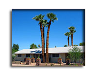 Welcome to Arizona Sunburst Inn Your Vacation Home in Phoenix. 5 Bedrooms 4 Queen 1 Double Double Free wireless internet! Expanded Continental Breakfast. Clothing optional sunbathing, swimming and spa. 5 rooms with PRIVATE bathrooms! Pet friendly (restrictions apply) Stay 7 nights and the 7th night is Free! Ask about our long term rates & summer specials! All rates are per night and don't include Tax or Tips.