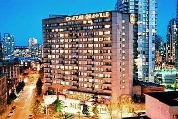 Ideally located between the Robson Street shopping mecca, and the revitalized Yaletown district in downtown Vancouver, this 3 diamond, full service Vancouver Best Western hotel offers many spacious one bedroom suites and guestrooms in the main Tower and Courtyard buildings.<br> The Best Western Chateau Granville Vancouver Hotel is just a minutes away from many shops, restaurants, theatres, GM & BC Place, the Canada Place and Ballentine cruise ship terminals, the Financial and Entertainment District and many tourist attractions which makes this cosmopolitan city such a popular Canadian destination.<br> The well-appointed Tower superior view rooms and spacious (450 sq. ft.) one bedroom suites at the Best Western Chateau Granville hotel include microwave, refrigerator, work desk, free in-room coffee and tea, pay-per-view movies, and 27-inch color television. Each one bedroom suite has a separate bedroom and a living room with pull out sofa bed, 2 televisions, and 3 telephones. All suites and most of our superior view rooms have private balconies, and many offering breathtaking views.<br> Our newly renovated Courtyard building is adjacent to our main Tower. This quaint heritage era building, in a garden setting, is a three level walk-up without elevators. This may be unsuitable for persons with mobility difficulties.<br> Our Food and Beverage facilities include the Rendezvous Bistro & Lounge, and six banquet rooms with full catering services. Other amenities include free local calls, free wireless Internet, multilingual staff, a complimentary Fitness World Health Club pass, and underground pay parking.<br> Whether you are traveling for pleasure or business, the Chateau Granville Downtown Vancouver Hotel truly exemplifies the Best Western standard of excellence. Our warm and professional staff will help to ensure that the Best Western Chateau Granville will become your home away from home while visiting Vancouver. Make an online reservation today at this downtown Vancouver hotel!<br/>This hotel in downtown Vancouver, British Columbia is within walking distance of the Robson Street shopping area and the Canada Line SkyTrain station. The hotel offers free Wi-Fi.