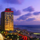 Located on Tel Aviv's  beachfront, Sheraton Tel-Aviv Hotel offers panoramic sea views and 3 restaurants. Its spacious rooms are air conditioned and feature satellite TV plus espresso coffee machines.