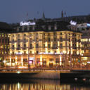 Dating from 1883, the Central Plaza Hotel is situated right at Zurich's Central Square next to the main railway station. Free WiFi and free gym access are available.