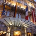 Centrally located on Vienna's elegant Ringstraße boulevard, Hotel de France Wien offers a restaurant, a bar with piano music, free 24-hour gym access and classy rooms with air conditioning and free wired internet access.