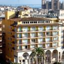 Located in the centre of Palma de Mallorca, the luxurious Saratoga hotel has a rooftop pool with beautiful city views. It features a jazz club and free Wi-Fi throughout.