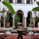 The riad enjoys an exclusive location in the Medina of Marrakesh, in the privileged district of Bab Doukkala, just minutes from the famous Jamaâ El Fna Square and of the souks.