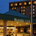 This hotel is located on the grounds of the Cleveland Hopkins International Airport and provides a free airport shuttle. The hotel features a tour desk and indoor pool.