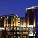 In Belfasts vibrant Gasworks district, the 4-star Radisson Blu Hotel Belfast features a stylish restaurant and cocktail bar.