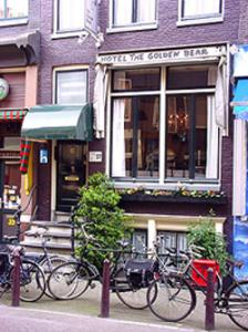Hotel in two historic buildings in one of the main gay streets and Amsterdam's first exclusively gay-hotel. Complimentary breakfast till 12:00. 